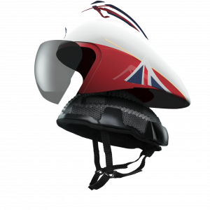 Team GB's Rio 2016 Olympic Helmet, designed by